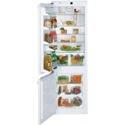 "Liebherr HC1001 22""  Stainless Steel Counter Depth Bottom Freezer Refrigerator with 9.3 cu.ft. Capacity"