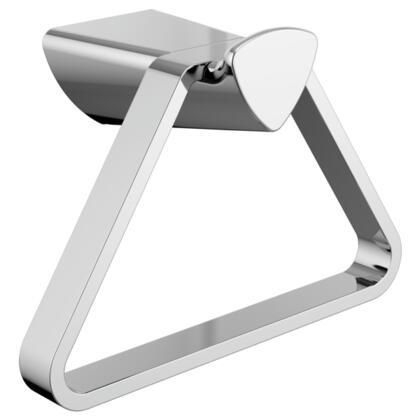 Zura  77446 Delta Zura: Triangular Towel Holder in Chrome