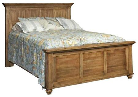 Durham 111124AR Hudson Falls Series  Queen Size Panel Bed