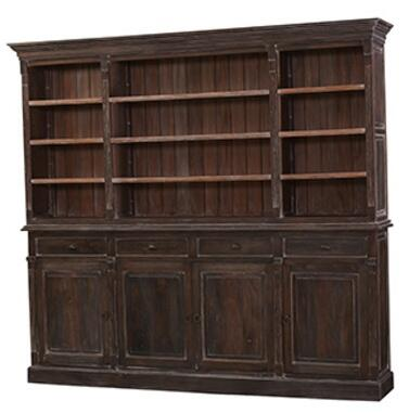Bramble 23631 Homestead Series Wood 9 Shelves Bookcase