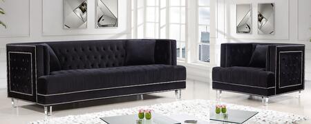 Meridian 6092PCARMKIT4 Lucas Living Room Sets