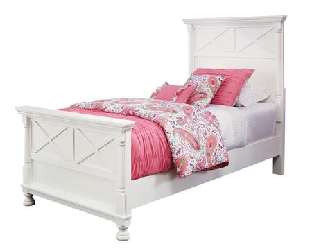 Signature Design by Ashley B502PANELBED Kaslyn Collection Youth Twin Size Panel Bed