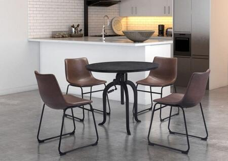 Zuo 100430KIT1 Lincoln Dining Room Sets