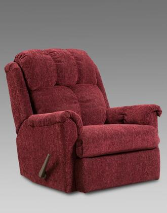 Chelsea Home Furniture 2100TW Verona IV Series Transitional Fabric Wood Frame Rocking Recliners