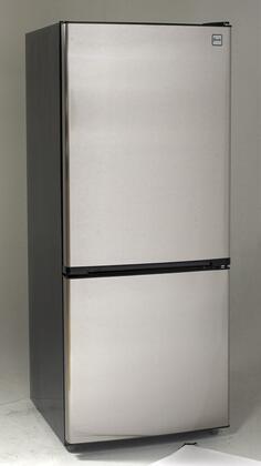 "Avanti FFBM102D 24"" Energy Star Bottom Freezer Refrigerator with 10.2 cu. ft. Capacity, Frost Free, Adjustable Glass Shelves, Full Range Temperature Control and Reversible Door,"