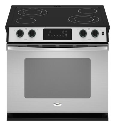 Whirlpool WDE350LVS  Slide-in Electric Range with Smoothtop Cooktop, 4.5 cu. ft. Primary Oven Capacity, in Stainless Steel