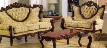 J. Horn 702BROWNS2SET Living Room Sets