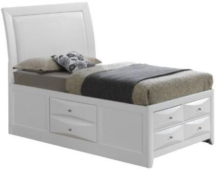 Glory Furniture G1570ITSB4  Twin Size Storage Bed