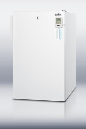 Summit CM411LMEDADA MEDADA Series Compact Refrigerator with 4.1 cu. ft. Capacity in White
