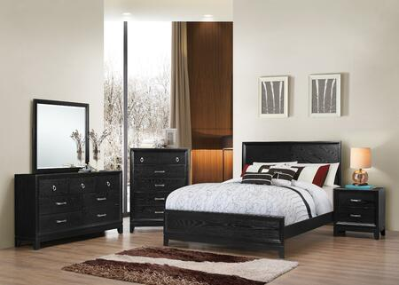 Simmons Upholstery 1002505268SQ Metropolitan Queen Bedroom S