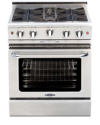 "Capital CGMR304N 30"" Natural Gas Freestanding Range"