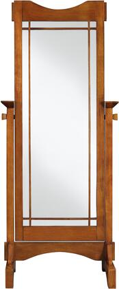 Powell 993230 Mission Oak Series Rectangle Portrait Floor Mirror