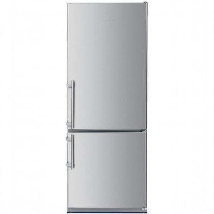 "Liebherr CS1660 30""  Bottom Freezer Refrigerator with 15.5 cu.ft. Capacity in Stainless Steel"