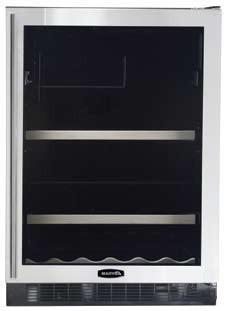"AGA APRO6BARMIVYR 23.88"" Built-In Wine Cooler, in Ivory"