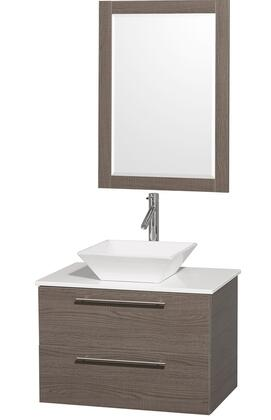 Wyndham Collection WCR410030GOWHD28WH