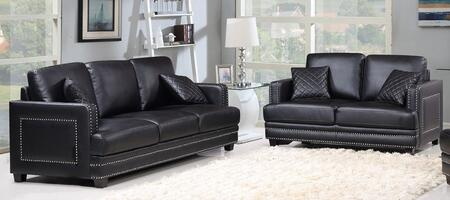 Meridian 655BLSL Ferrara Living Room Sets