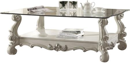 Acme Furniture 82103 Bone White Traditional Table ...