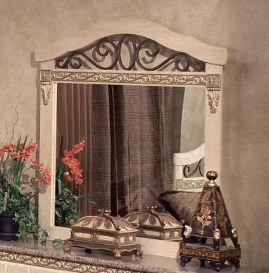 Harden 4328  Rectangular Portrait Dresser Mirror