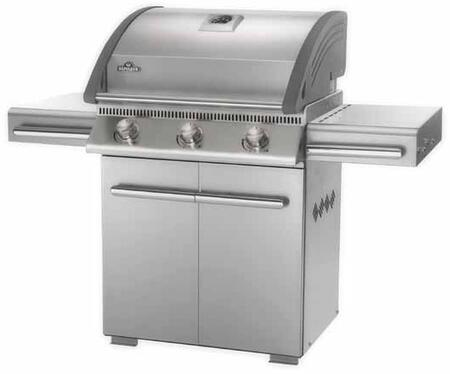 """Napoleon L485PSS 61"""" Stainless Steel Freestanding Grill"""