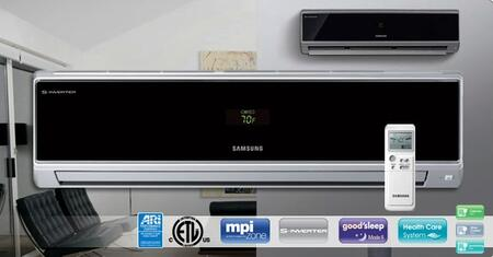 Samsung AQV18VBEX Mini Split Air Conditioner Air Conditioner Cooling Area,