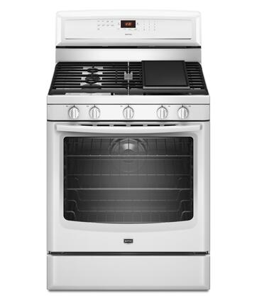 """Maytag MGR8880AW 30"""" Gas Freestanding"""