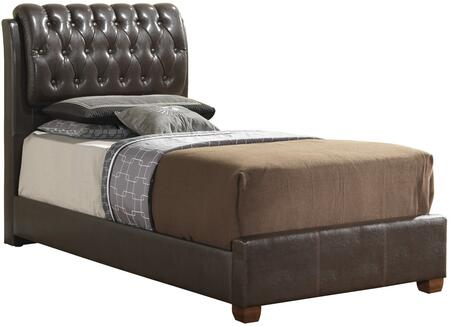 Glory Furniture G1550CTBUP  Twin Size Panel Bed
