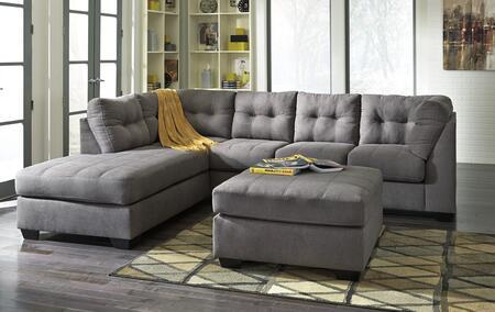 Milo Italia MI9054SECOT1CHAR Octavio Living Room Sets