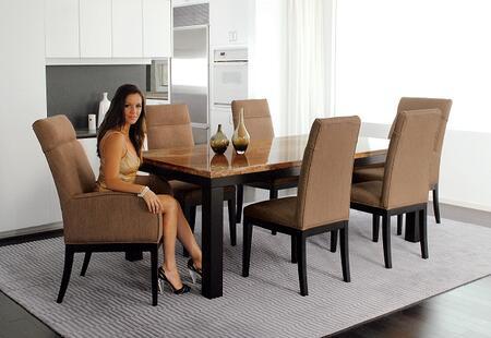 Armen Living LC3102ARFAPE Torino Series  Dining Room Chair