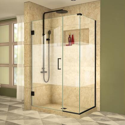 DreamLine Unidoor Plus Shower Enclosure RS39 30D 14IP 30RP HFR 09