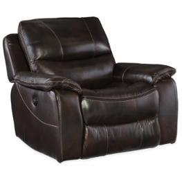 Hooker Furniture SS624-P1G-088 Traditional-Style Living Room Power Glider Recliner with Black Trim