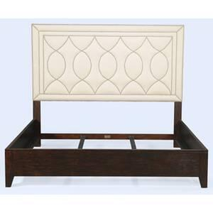 Ambella 24027200090 Manhattan Series  King Size Platform Bed