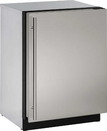"U-Line U3024FZRINTx 24"" Modular 3000 Series Built In Upright Counter Depth Freezer with 4.5 cu. ft. Capacity, Panel Ready Door, Field Reversible Doors, Right Hinge, Frost Free Defrost, Sabbath Mode, U-Select Control, Star K Certified"
