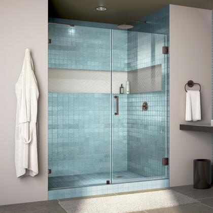 DreamLine Unidoor Lux Shower Door RS30 30D 30P 06 Blue Tile