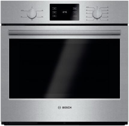 "Bosch HBL5351UC 30"" Single Wall Oven, in Stainless Steel"