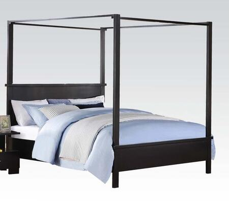 Acme Furniture 20050Q London Series  Queen Size Canopy Bed