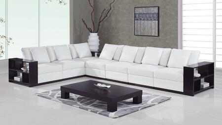 Global Furniture USA A130  Leather Sofa