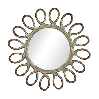 Sterling 11419 Clement Series Round Both Wall Mirror