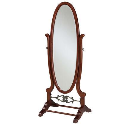 Powell 998773 Heirloom Cherry Series Oval Portrait/Vertical Cheval Mirror