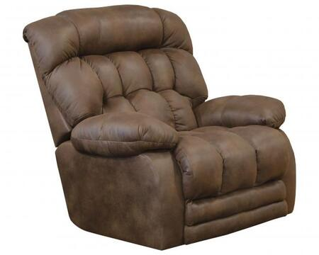 """Catnapper Horton Collection 50"""" Lay Flat Recliner with Extended Ottoman, Comfor-Gel Coil Seating, Reinforced Frame and Faux Leather Upholstery in"""