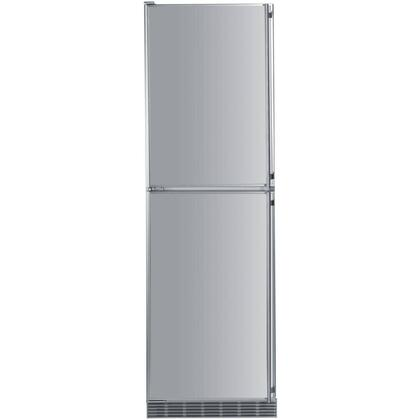 "Liebherr BF1061 24"" Star K, Energy Star Built In Bottom Freezer Refrigerator with 10 cu. ft. Capacity, BioFresh, HydroSafe, SuperCool and SuperFrost, in Stainless Steel"