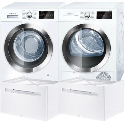 Bosch 538898 800 Washer and Dryer Combos