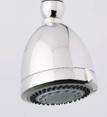 Rohl U.5800 Perrin and Rowe Bath 6-Function Showerhead: