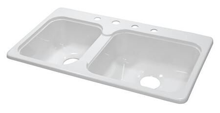 Lyons DKS01C435 Kitchen Sink