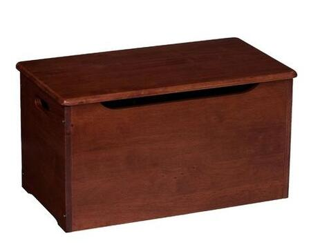 Gift Mark 7035 X Solid Wood Junior Toy Chest with Safety-Finger Cut-Outs in
