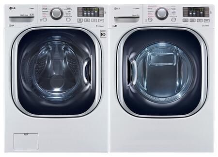 LG LG2PCFL27EWKIT2 TurboWash Washer and Dryer Combos
