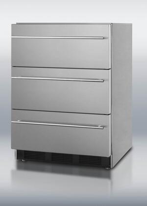 Summit SP6DSSTBOSTHIN Freestanding Refrigerator Drawer(s) Outdoor Refrigerator