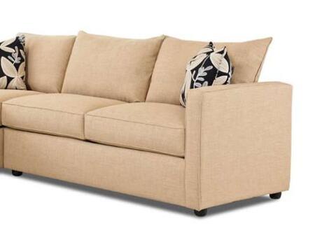 Klaussner BOWANRFSTS  Stationary Microfiber Sofa
