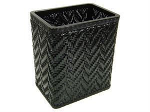 Redmon S423X Elegante Collection Decorator Color Wicker Wastebasket in