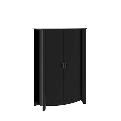 Bush Furniture MY16X9703 Aero 2-Door Tall Storage