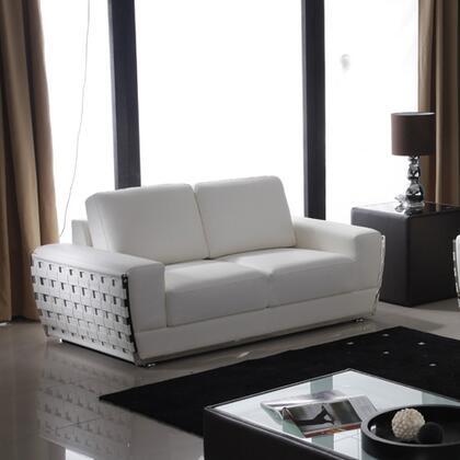 Diamond Sofa THEWAVELW Wave Series  Loveseat